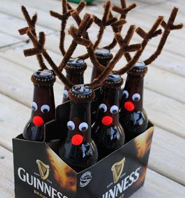 Rootbeer reindeer / Rénszarvasos sörök - ajándék csomagolás - férfias ajándékok / Mindy -  creative craft ideas