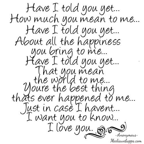 I Love You Quotes For Husband From The Heart : ... Pictures ~ Pinterest Friendship, Aunt and Friendship quotes