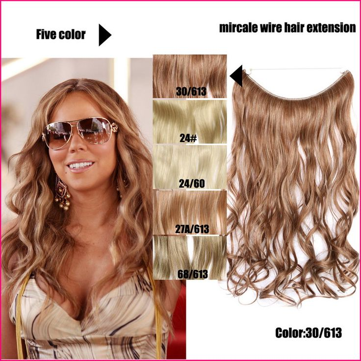 New Coming Colored Blonde Hair Extensions Curly Hairpieces For Women Heat Resistant Synthetic Flip In Hair Extension 45cm 80g