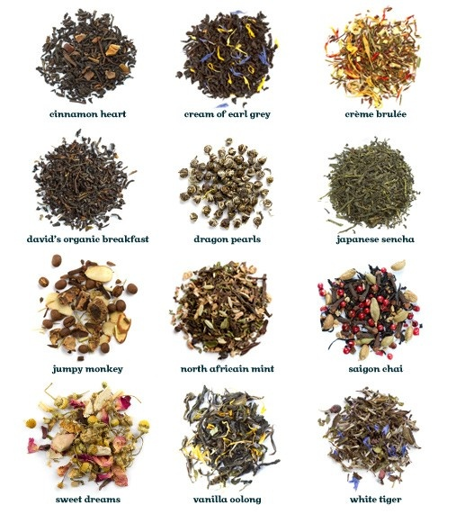 Awesome gift idea: David's Tea Around the World Tea Sampler.