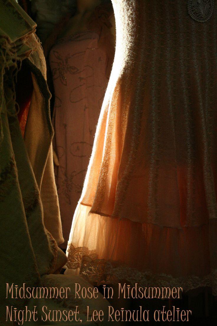 Midsummer Rose and Midsummer Night Sunset, Lee Reinula atelier 2014