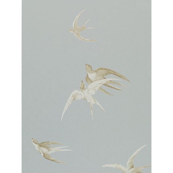 Buy Sanderson Swallows Wallpaper | John Lewis