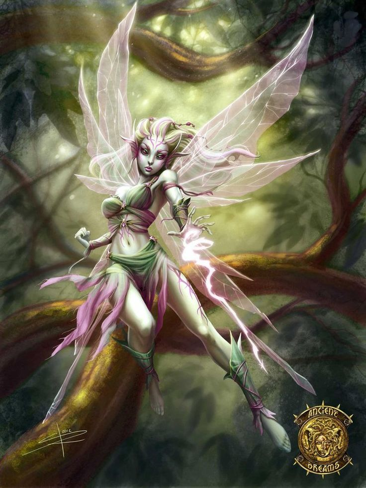 Pixie game card colored by ~Sabinerich on deviantART