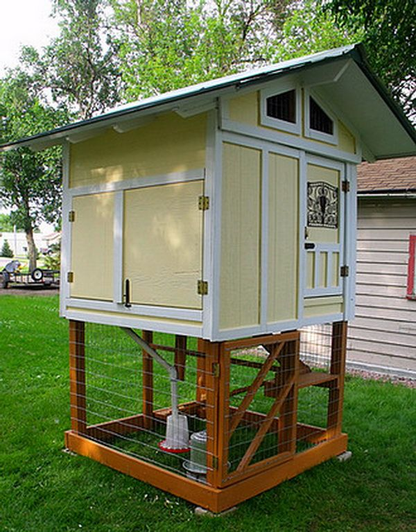 chicken coop ideas designs and layouts for your backyard chickens poultry aboutthegarden - Chicken Coop Ideas Design