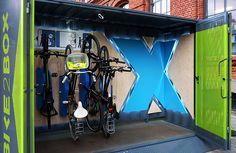 Projekt  kontener na rowery , zaprojektowany dla firmy bike2box w ramach Łódź Design FestivalProjekt: PIOTR PŁÓCIENNIKZdjęcia: PIOTR PŁÓCIENNIK