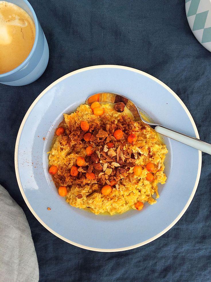 Græskargrød - lækker morgenmard uden korn