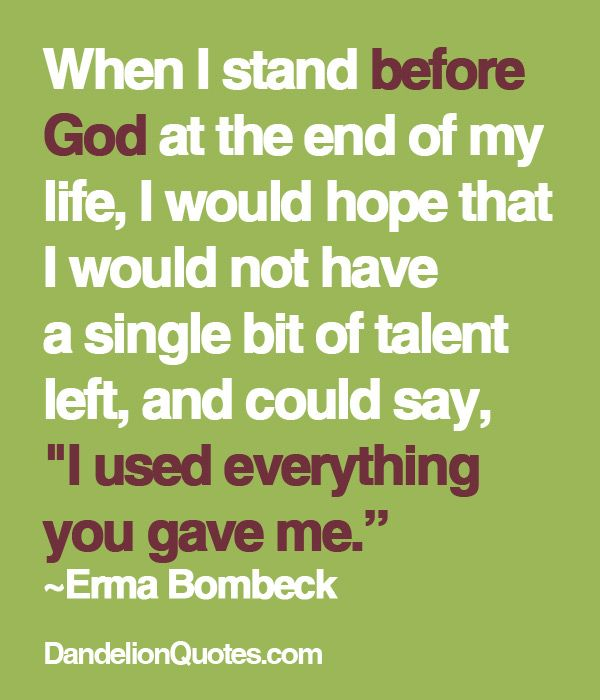 by Erma Bombeck
