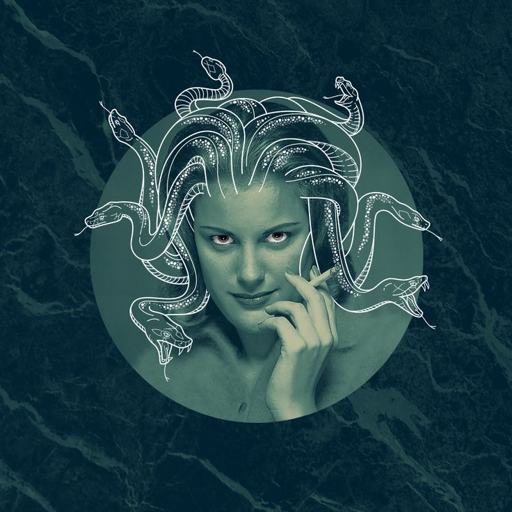 Medusa  |  Collage and illustration by Studio Lowbrow
