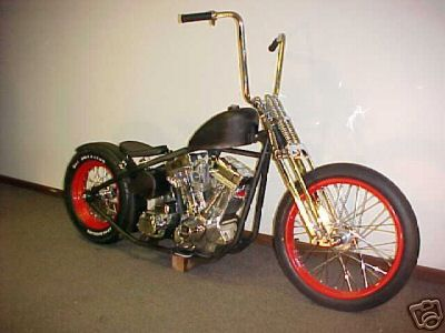 Old school chopper.