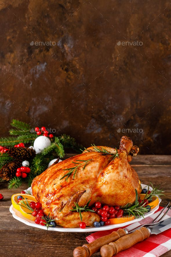 Is Turkey Safe To Eat For Christmas 2020 Christmas turkey. Traditional festive food for Christmas or