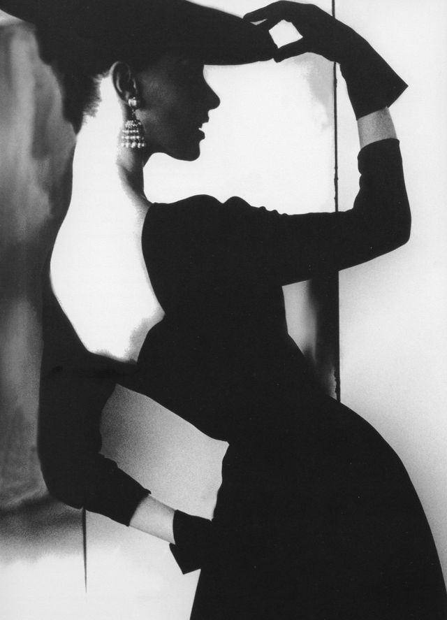 vintage everyday: Amazing Black and White Fashion Photography by Lillian Bassman…