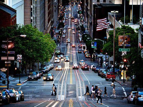 San Francisco, California - City street