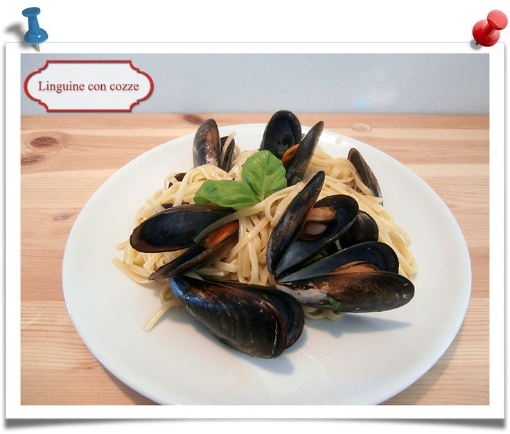 Imparare l'Arte della Cucina Quotidiana: Jamie Oliver: linguine con cozze in vino bianco e ...