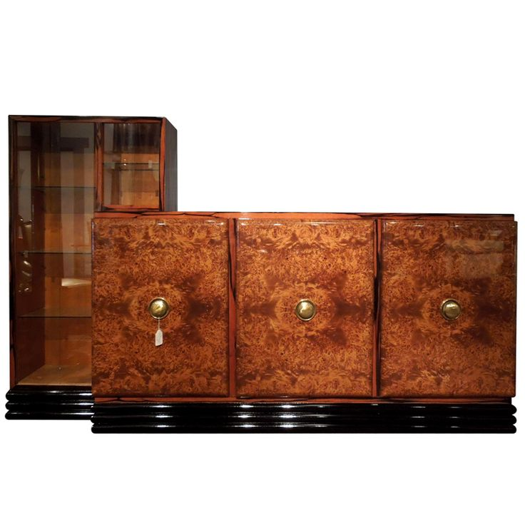 Art Deco Credenza | From a unique collection of antique and modern credenzas at http://www.1stdibs.com/furniture/storage-case-pieces/credenzas/