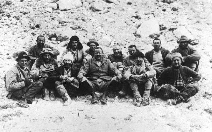Tom Longstaff 1922 Everest expedition