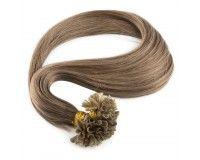 Extensions Kératine - Cheveux Raides Marrons Clair - 34,90€