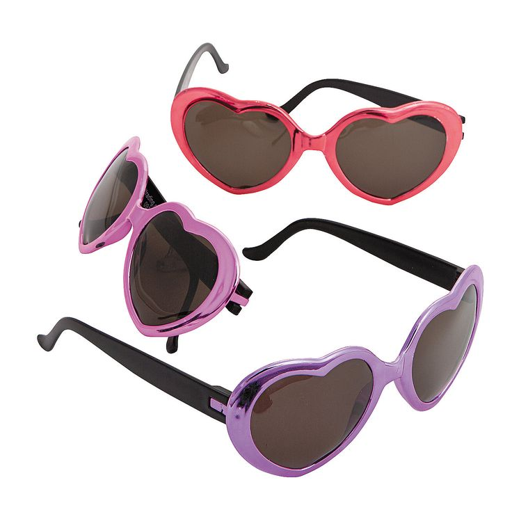 Metallic+Heart-Shaped+Glasses+-+OrientalTrading.com