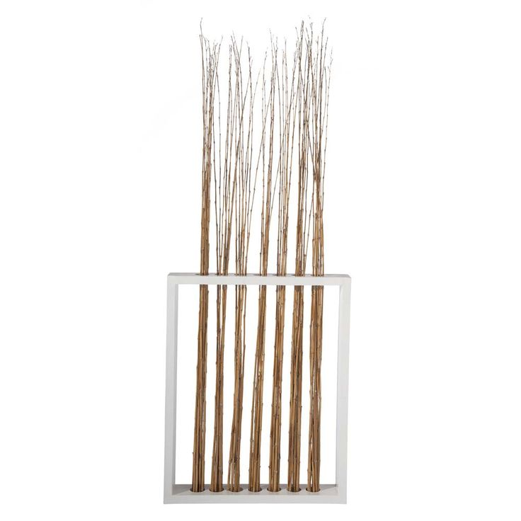 17 best bamboo room divider wall art images on pinterest for Hanging bamboo privacy screen