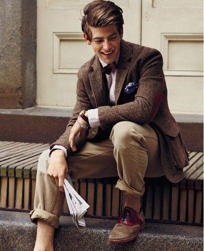 Tweed. Saddle Shoe.