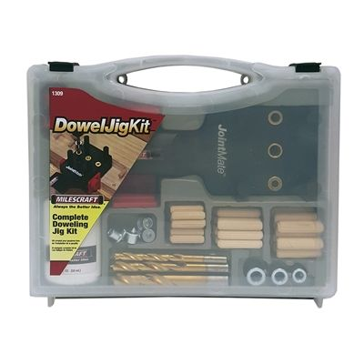 Milescraft Build or Repair Furniture and More with The Milescraft Doweljigkit. Includes Everything You Need to Get Started Creating Strong and Accurat