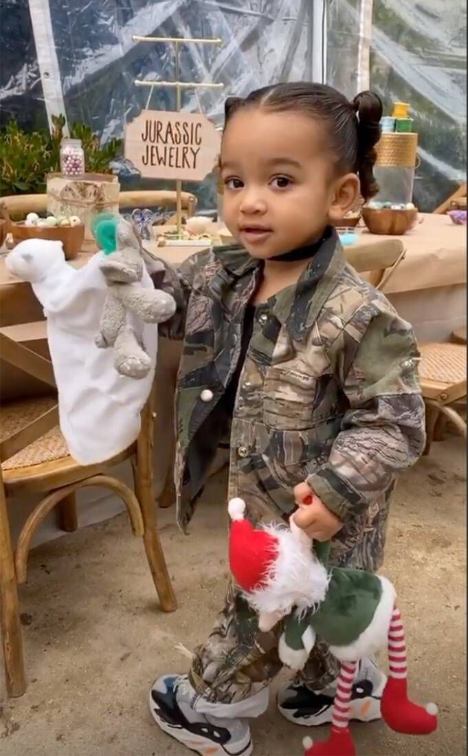 It's Party Time from Saint West's DinosaurThemed 4th