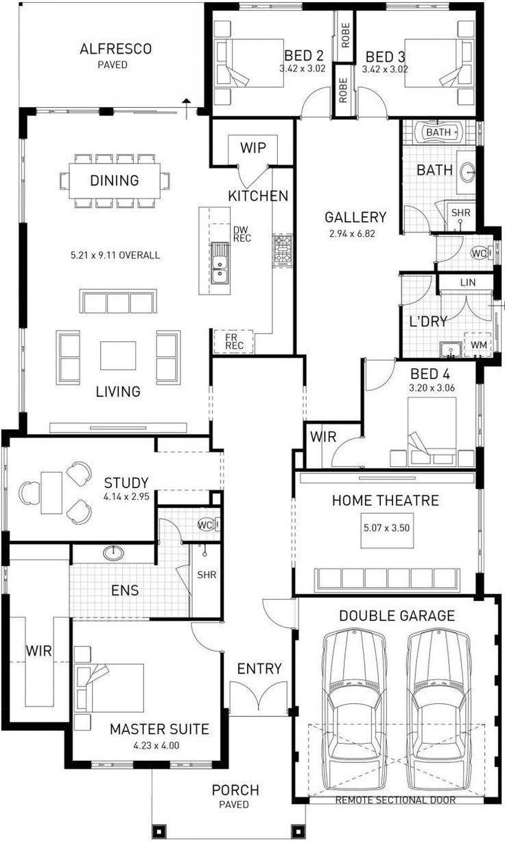 New Hampton, Single Storey Home Design Master Floor Plan, WA