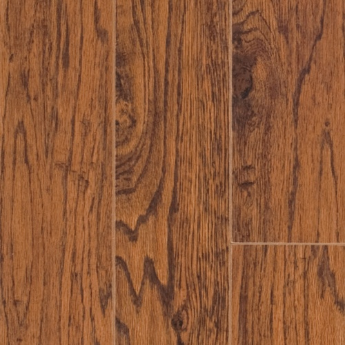 "Shop Pergo 4-7/8""W x 48""L Handscraped Heritage Hickory Laminate Flooring at Lowes.com"