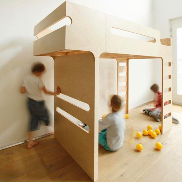 The F Bunk Bed from @rafakids. Space underneath makes this a great choice for smaller spaces   DKK 11999. Shop link in bio. #studiominishop #rafakids #fbunkbed #bunkbed #kidsroom #kidsdecor #kidsinterior #børneværelse #køjeseng #børneseng #børneinteriør