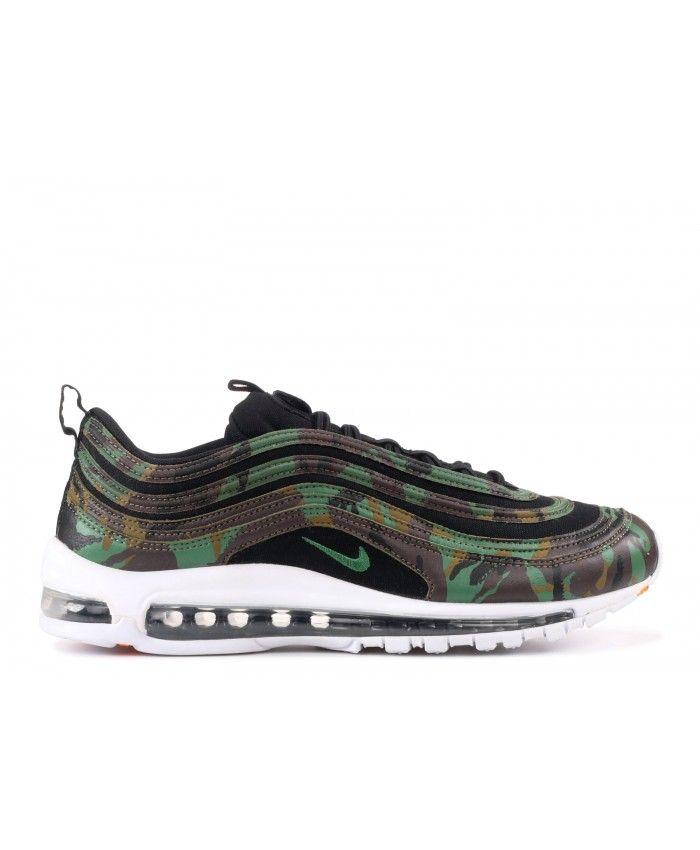 Nike Sportswear AIR MAX 97 - Baskets basses - black/bright grape/clear emerald tn1xk6MDU