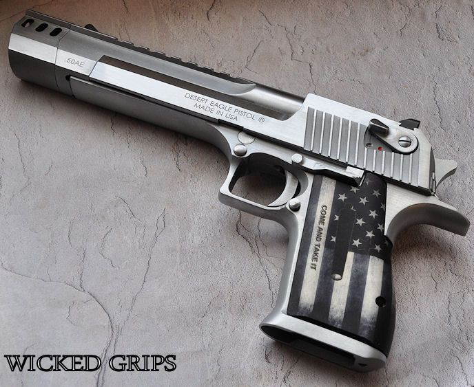 DESERT EAGLE NEW B&W COME AND TAKE IT