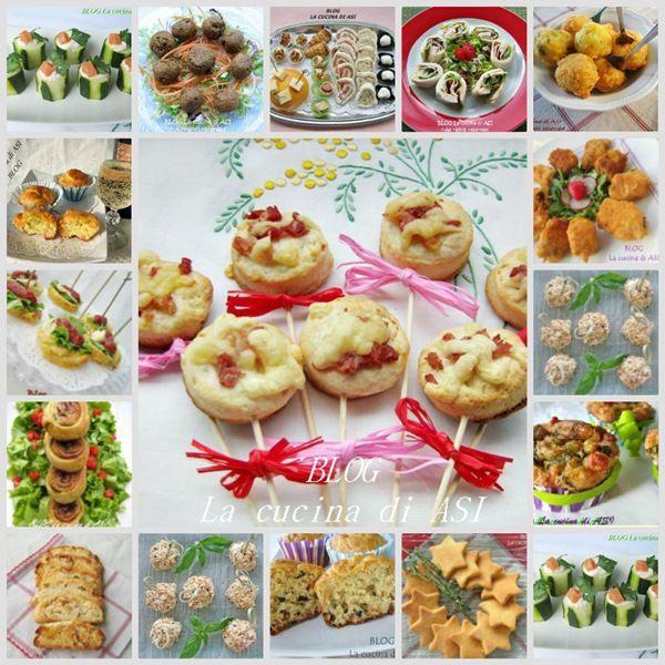 FINGER FOOD SALATO Raccolta ricette