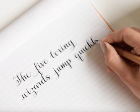 Amy Style Calligraphy Video Course ~ $10