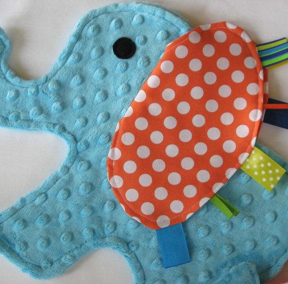 Elephant shape blanket