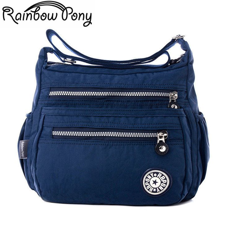 Rainbow Pony Women Nylon Bags For Women Shoulder Bag RBPONY Woman Handbag Multilayer Bags Nylon Messenger Bag Bolsos sac LV06 //Price: $14.00 & FREE Shipping //