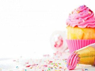 Dessert Cake Pink Cream HD Wallpaper