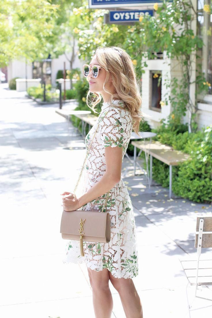 caa73a9c113c Perfect summer garden party or wedding outfit for women