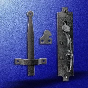 Wrought Iron Door Latch Black  Colonial Norfolk  8  Tall & 25+ unique Door latches ideas on Pinterest   Door locks and ... pezcame.com