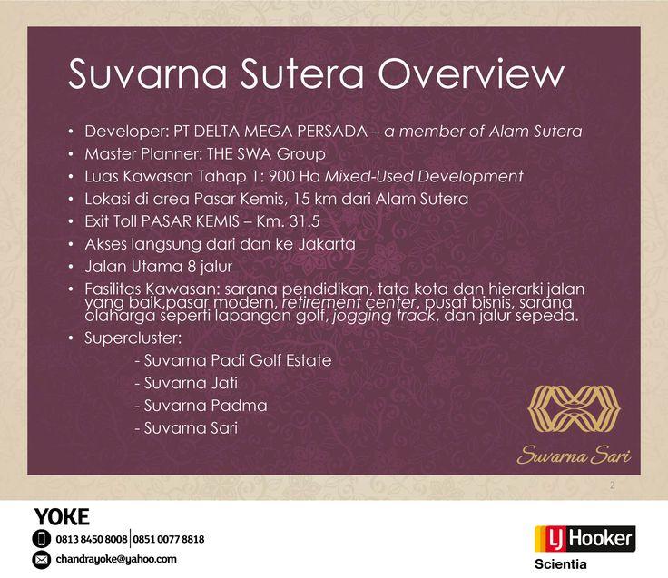 Cluster BAHANA @ Suvarna Sari, Suvarna Sutera - Alam Sutera Group