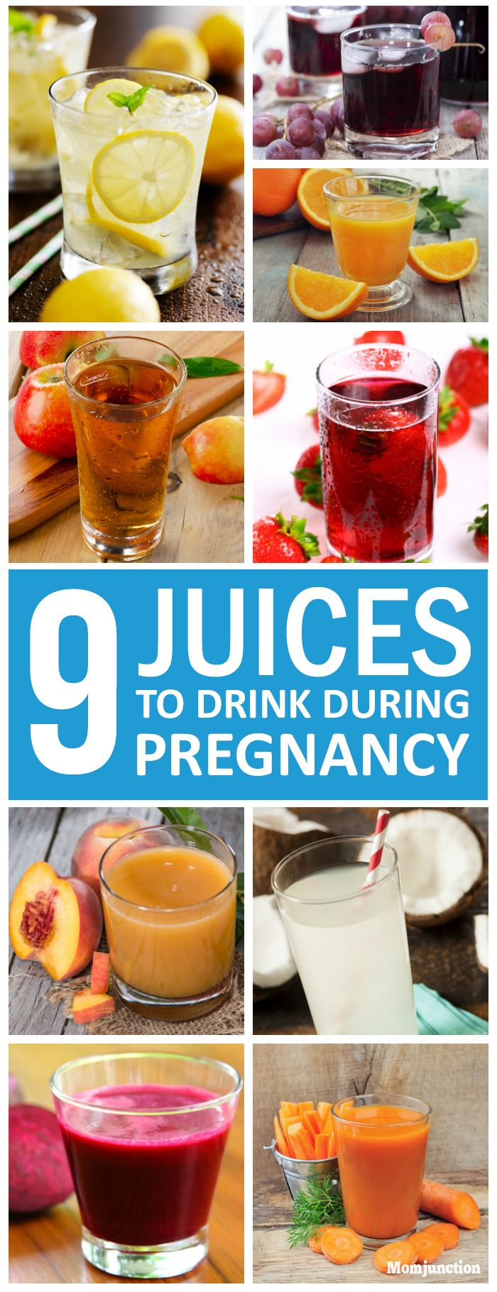 9 Healthy Juices You Should Drink During Pregnancy: You can make some fresh juice each day depending on what vegetables and fruits you like, and what is available as per the season. Check out 9 best juices during pregnancy
