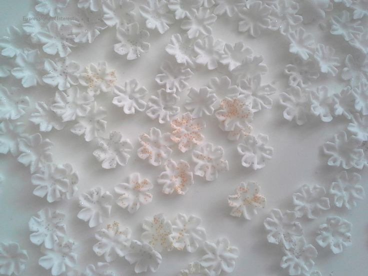 Tiny snowflakes - Etsy website - shop: Expressions of Interest