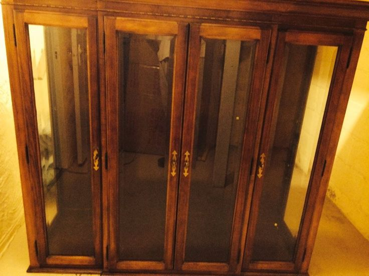 Beautiful national mt airy china cabinet for dining room for National dining rooms