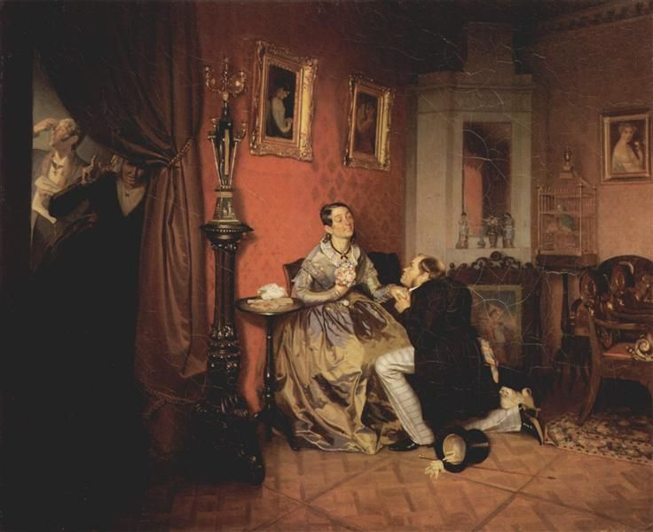 Difficult Bride - Fedotov Pavel