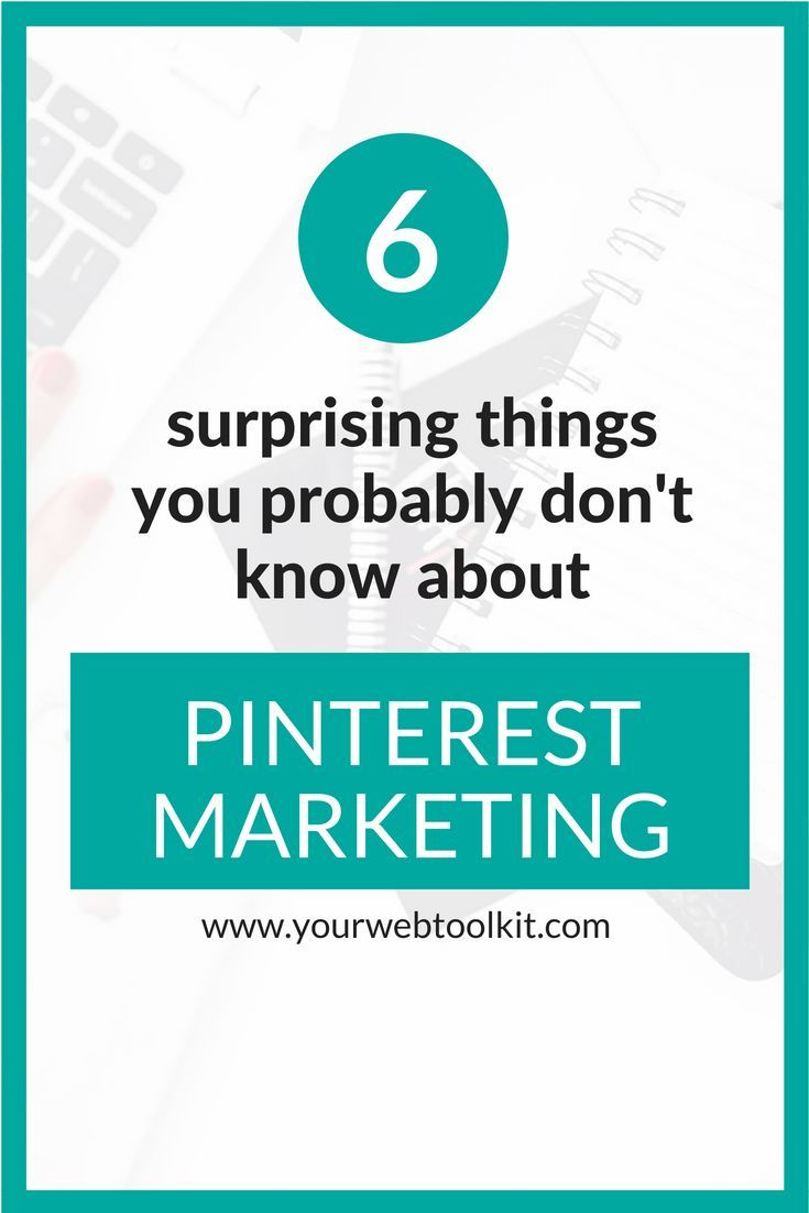 Looking for ideas on how to use Pinterest marketing for your business? These 6 easy tips will help you understand how to use Pinterest for your business or blog. Click through to read more.... #blogging #pinterestmarketing #pinterest