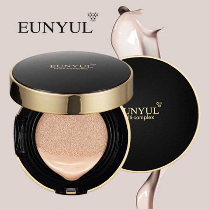Eunyul Multi Complex Whitening Wrinkle Care Essence pact CC Cushion #21 #23 #EUNYUL
