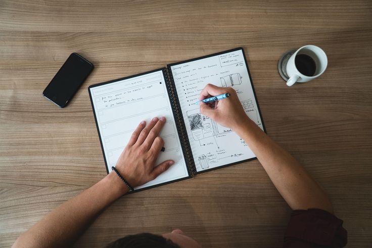 Het Bambook Notitieboek is een uitwisbaar schrift die je kan blijven hergebruiken! Bekijk op deze pagina de mogelijkheden met dit Whiteboard schrift!