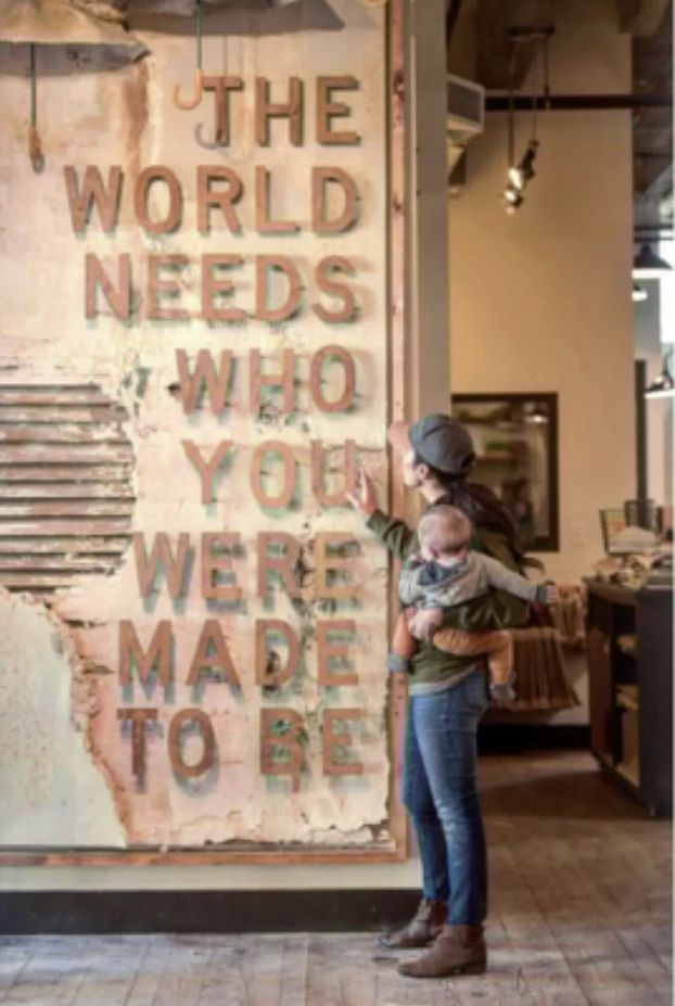 The World Needs Who You Were Made To Be Chip And Joanna Gaines Gaines Magnolia Farms