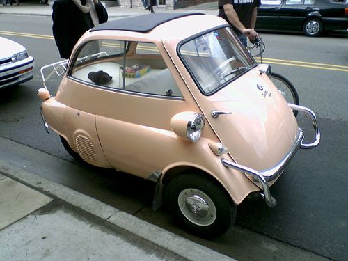 Mini-car: BMW Isetta