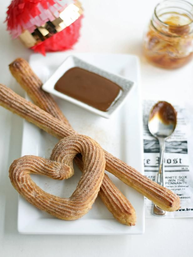 Baked Churros Recipe 							Make a healthier version of this delicious fried treat by baking it instead.