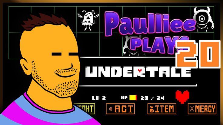 Let's Play Undertale Pacifist Walkthrough - Part 20 - DATE WITH DR ALPHYS