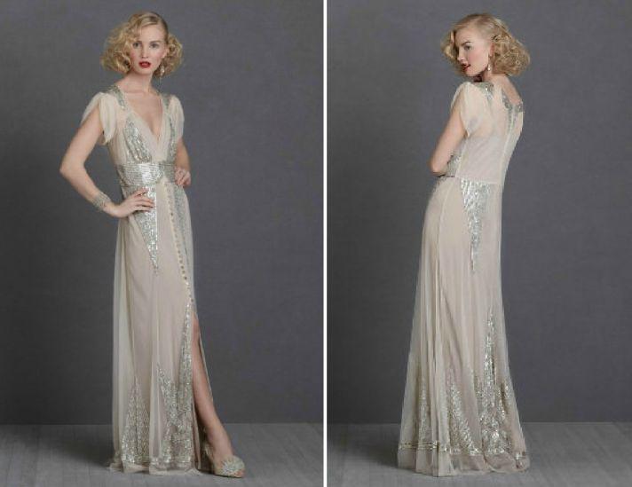 Hair styles 1920 1940 french estate pinterest 1930s for 1930s inspired wedding dresses